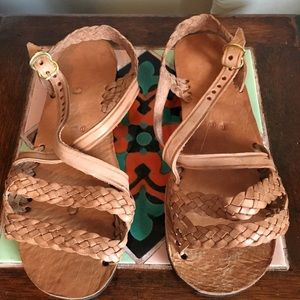 Humble Hilo Leather Sandals from Mexico 39 NEW